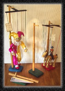 Marionette Display-stands